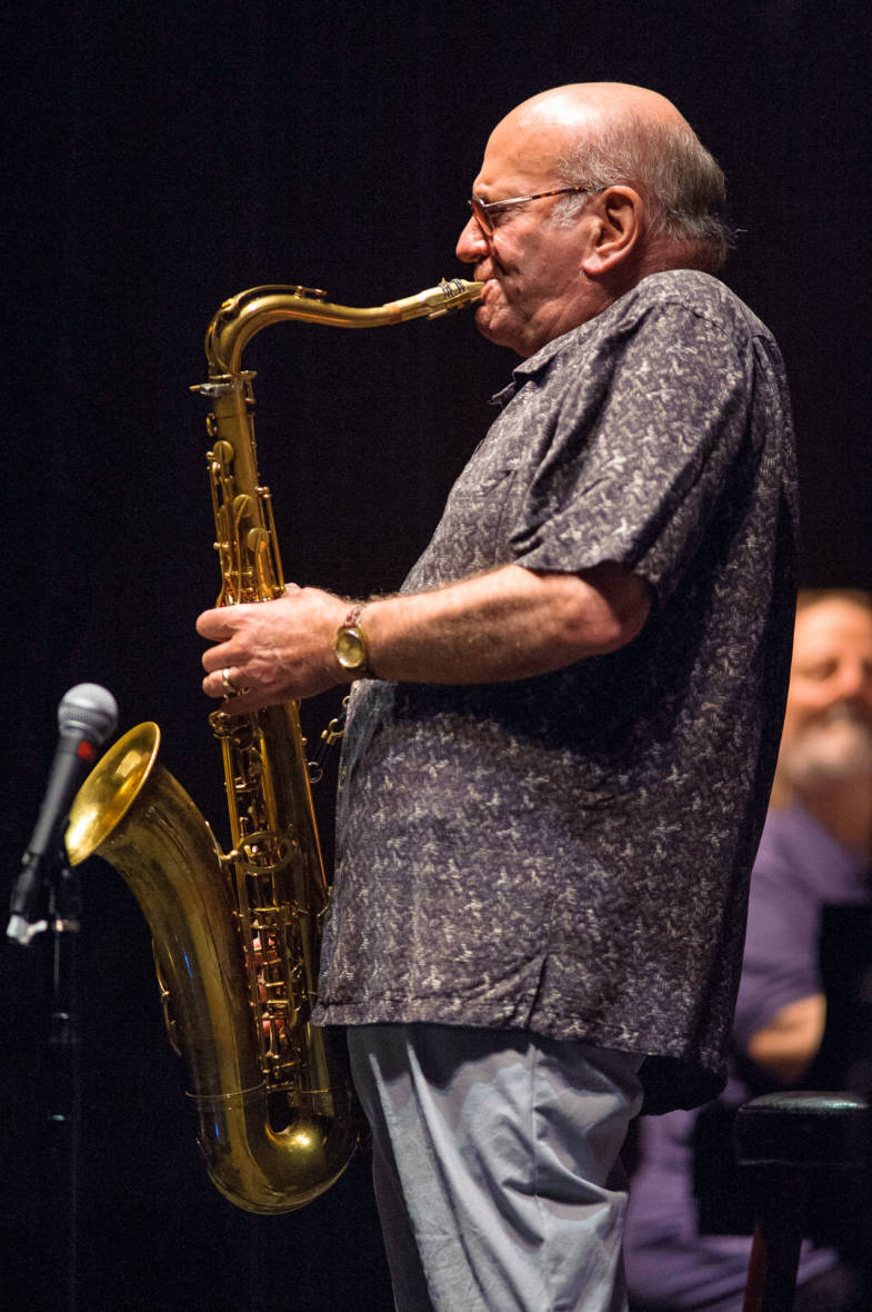 Dave Liebman at the Healdsburg Jazz Festival, June 4, 2016.