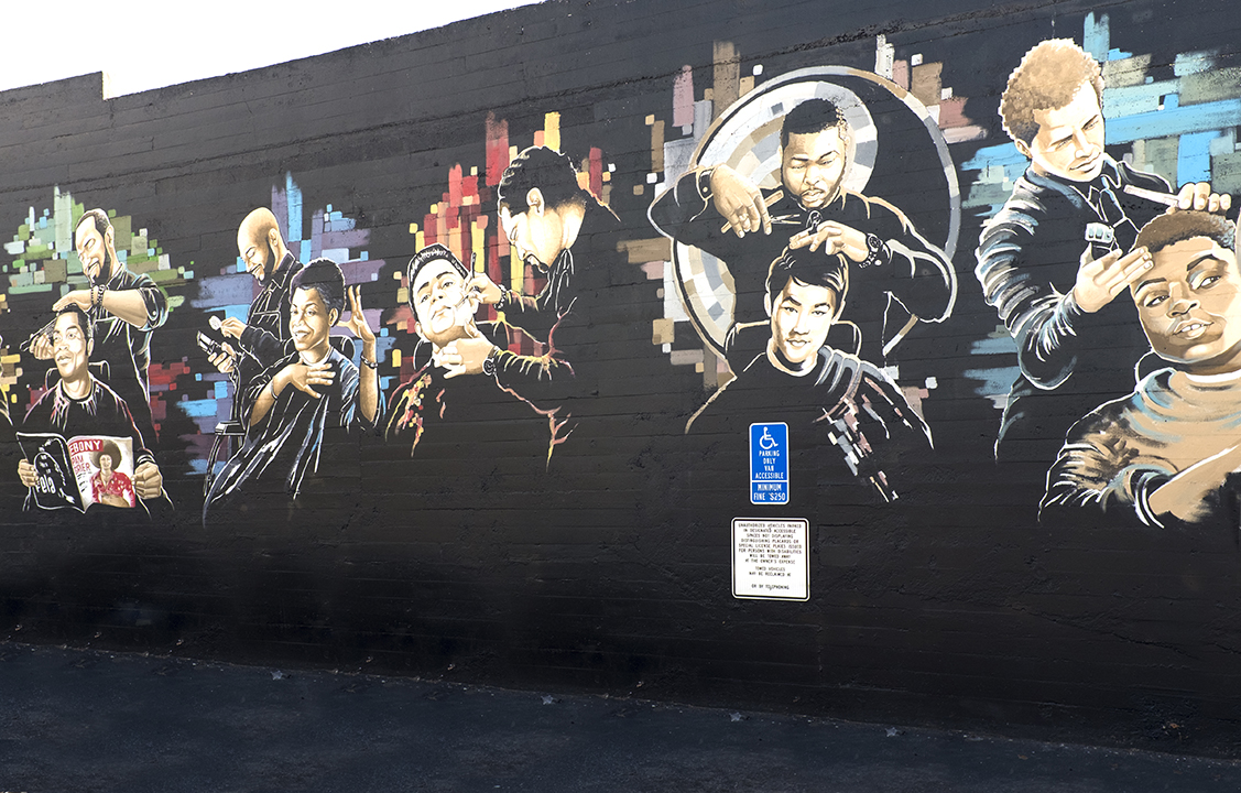 Mural by Ian S. Young