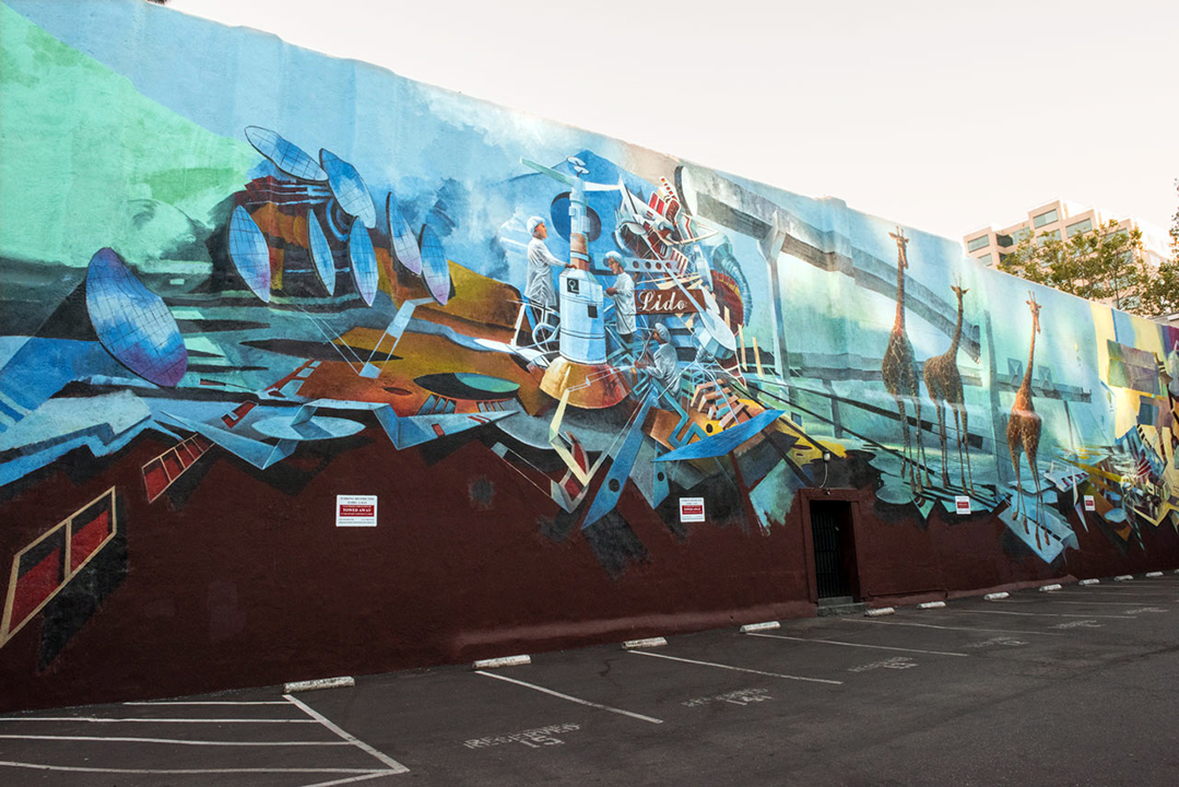 Mural by Jeffrey Hemming