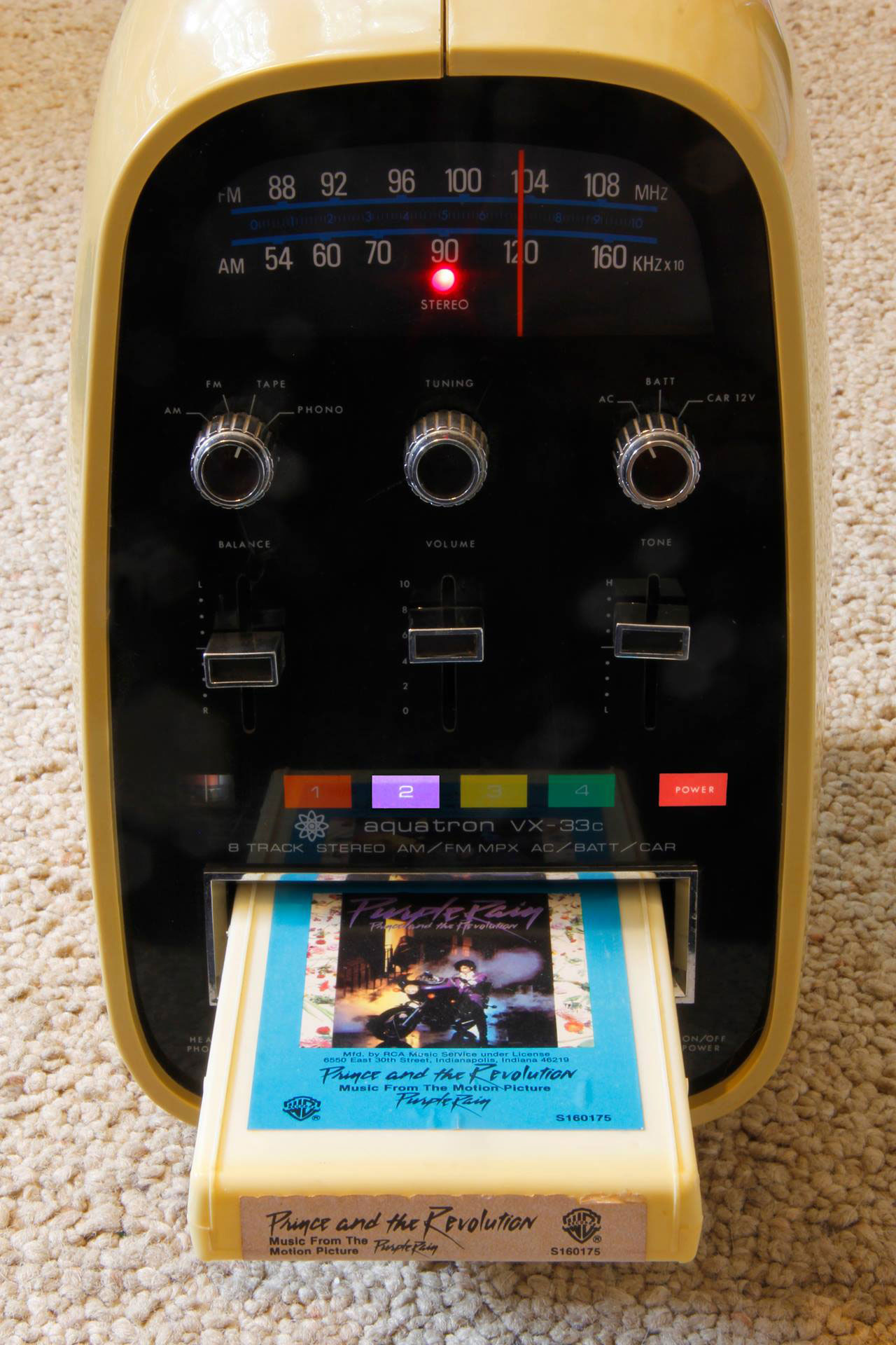 Purple Rain Played In The Aquatron A E Age 8 Track