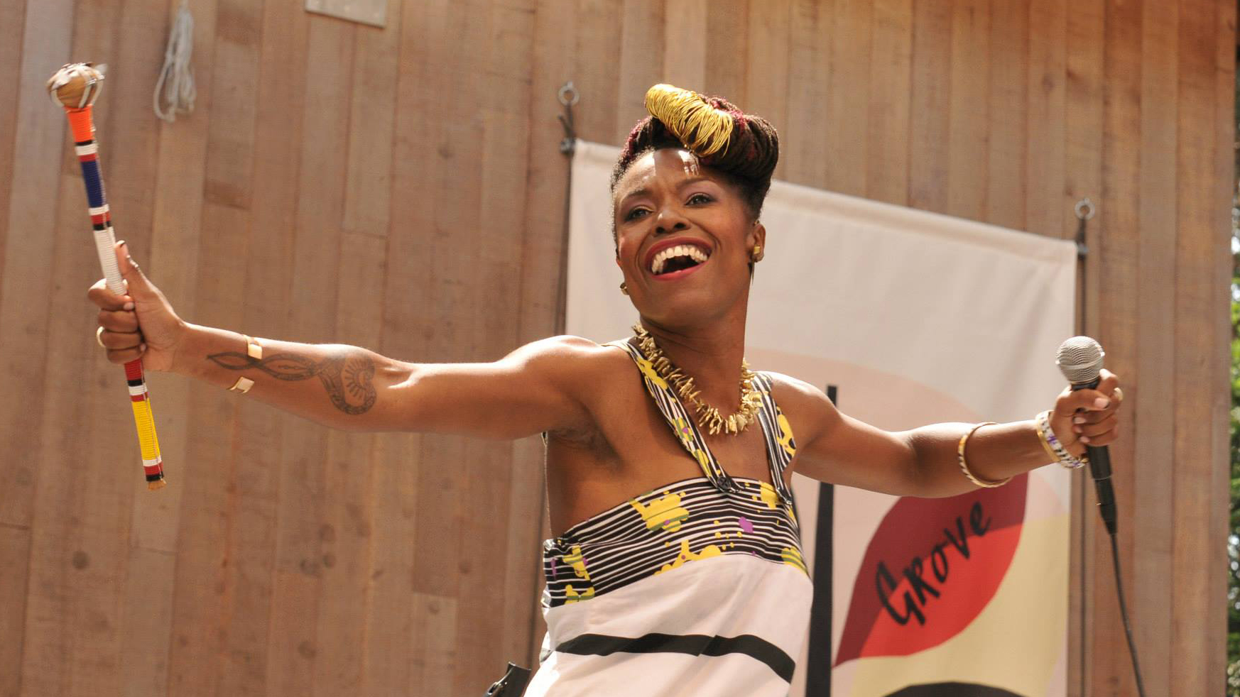 Zakiya Harris live at 2015 Stern Grove Festival
