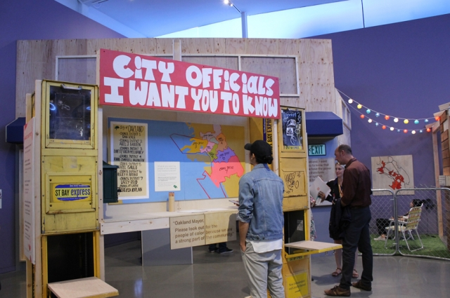 Installation view of 'Oakland, I want you to know...'