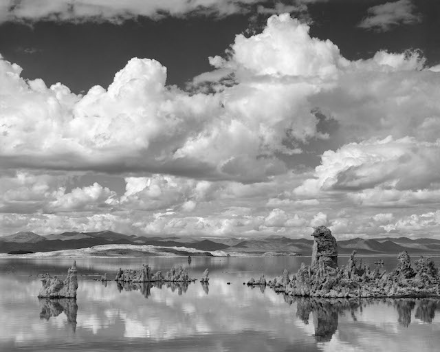 Joseph Holmes, 'Clouds over Mono Lake,' 1975.