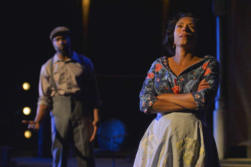 Margo Hall and Aldo Billingslea star in Fences at California Shakespeare Theater