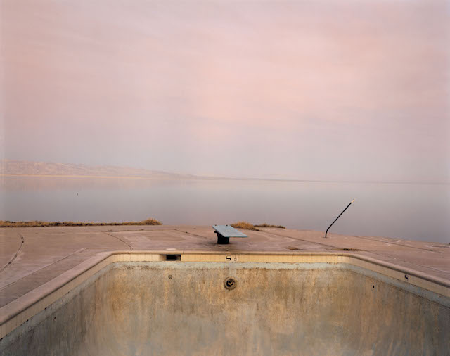 Richard Misrach, 'Diving Board, Salton Sea,' 1983. © Richard Misrach, courtesy Fraenkel Gallery, San Francisco.