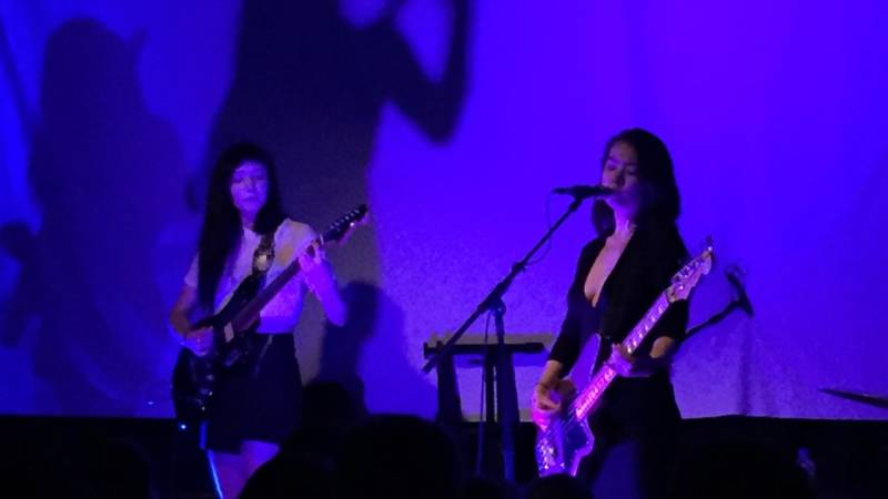 Mitski performs at the Starline Social Club in Oakland, July 8, 2016.