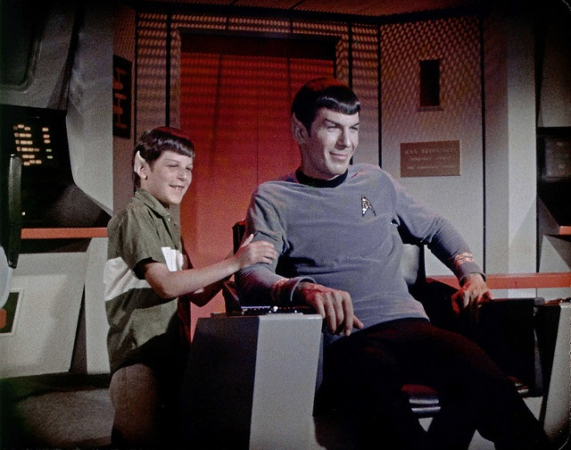 Still from 'For the Love of Spock.'