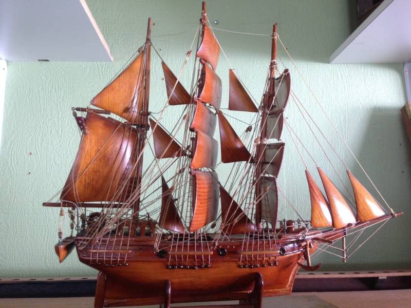 Gorgeous, hand-carved ship models like this one reflect the region's maritime history, but they weren't driving much foot traffic into the Museum of Monterey.