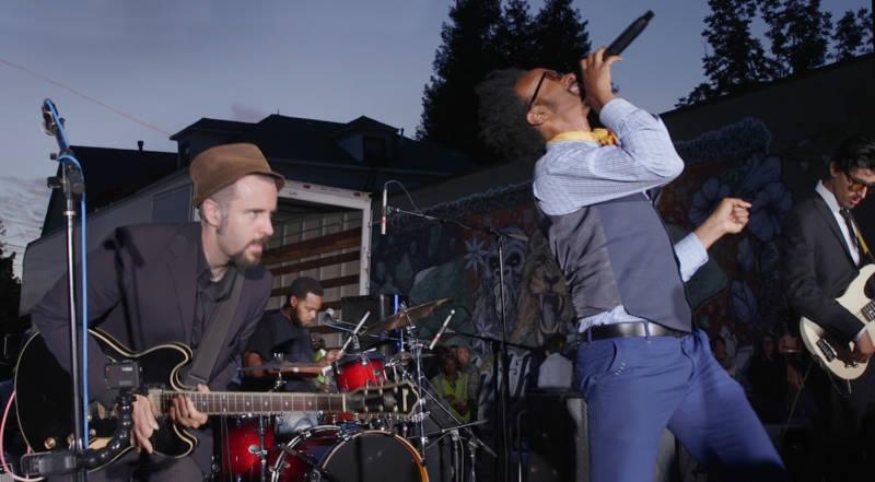 Fantastic Negrito performing at First Fridays Oakland