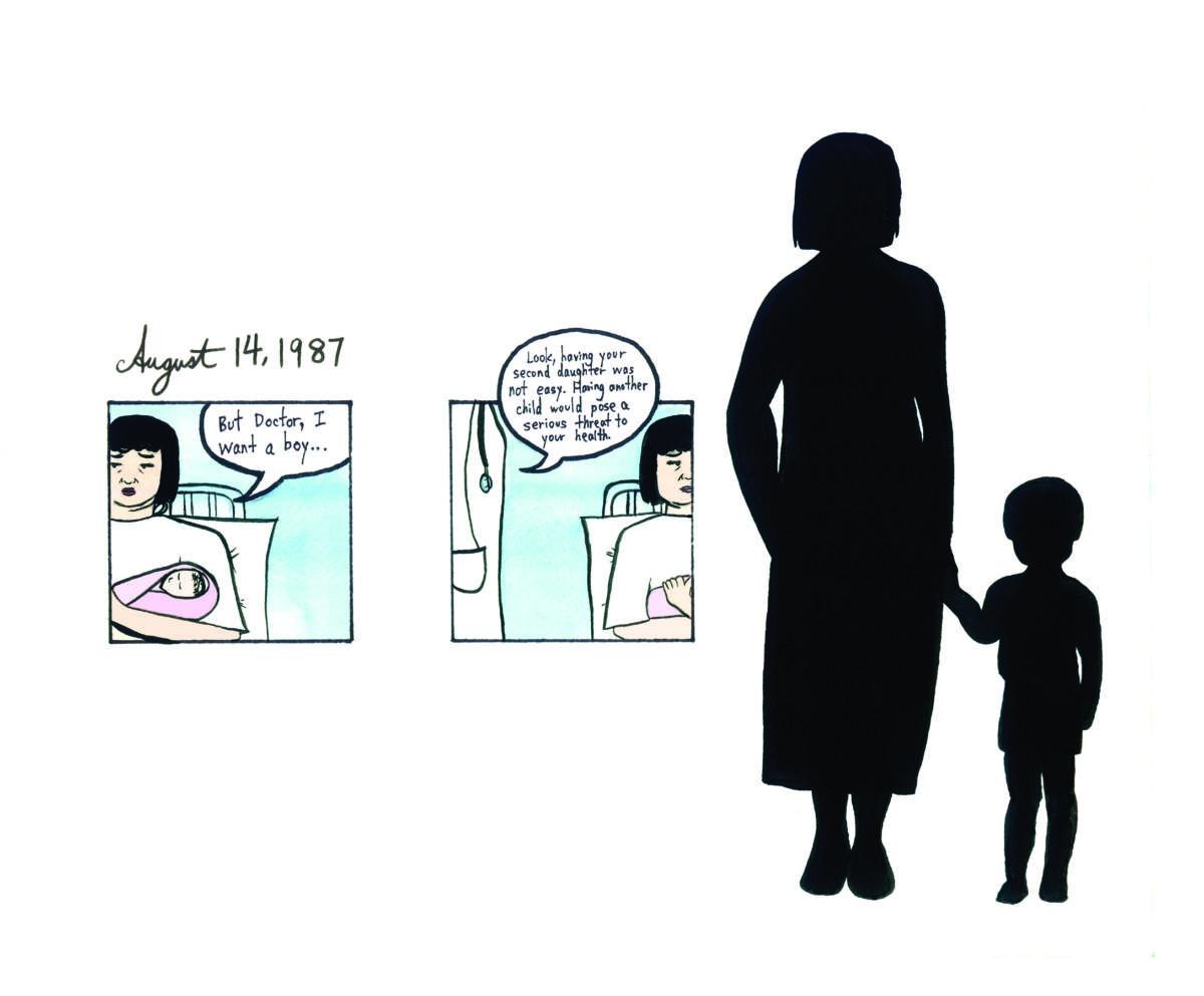 Kayan Cheung-Miaw, 'The Third Child,' 2014.