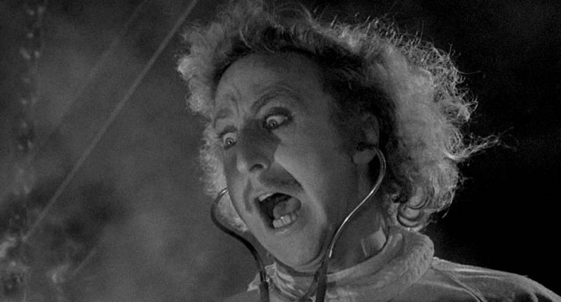 Gene Wilder in 'Young Frankenstein.'