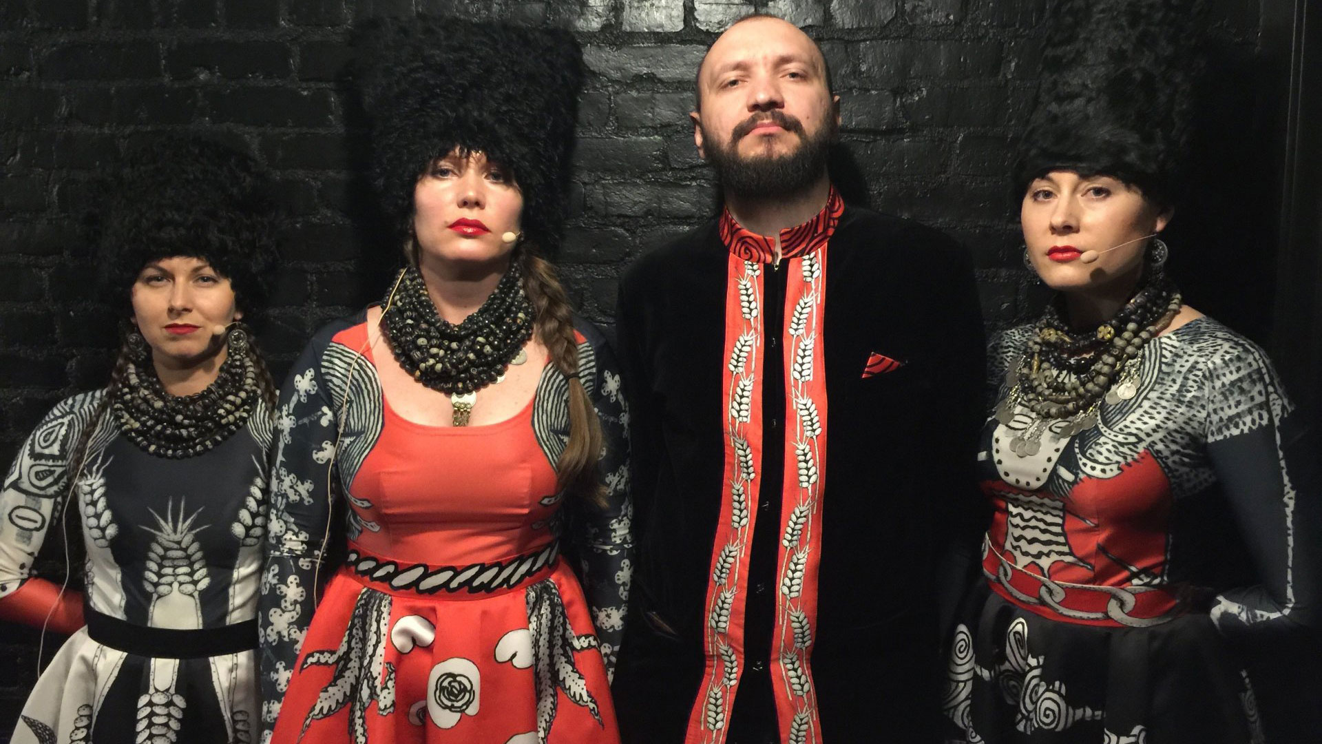 DakhaBrakha perform their score for classic Soviet silent film 'Earth' on Friday, Aug. 19, at the SFJAZZ Center.