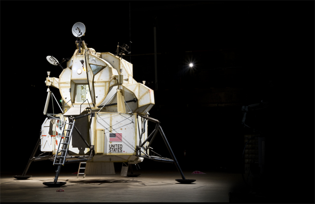 Tom Sachs' space program lander.