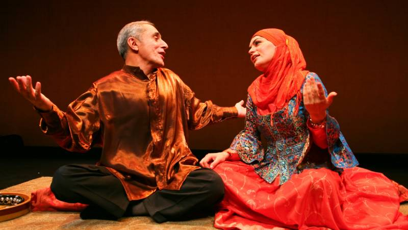 Azerbaijani mugham vocalists Alim Qasimov and Fargana Qasimova oin the Silk Road Ensemble and the Mark Morris Dance Group for the world premiere performances of Layla and Majnun Friday, September 30 – Sunday, October 2, 2016 in Zellerbach Hall at UC Berkeley