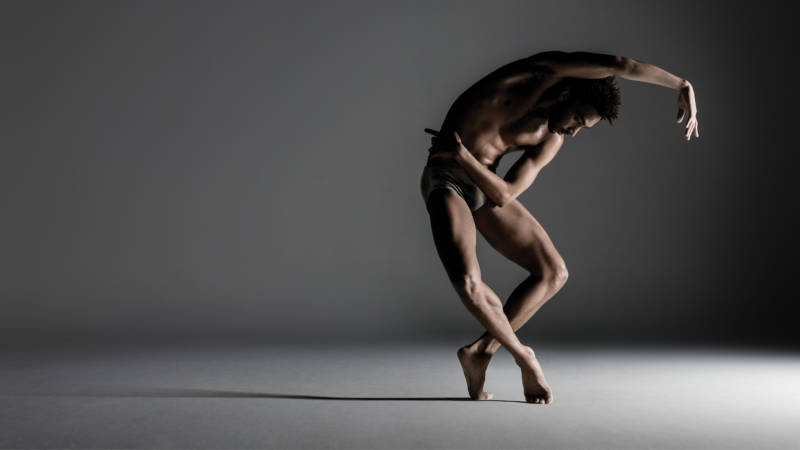 Michael Montgomery of Alonzo King's LINES Ballet (Photo: RJ Muna)
