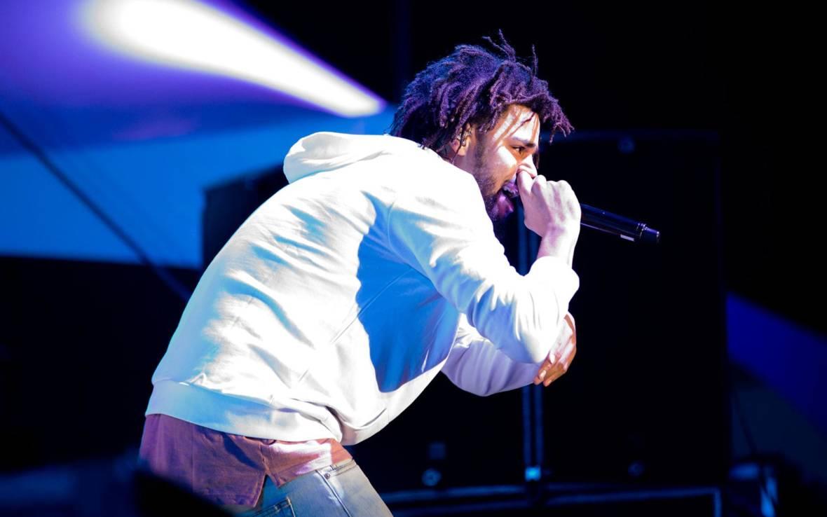 J. Cole performs at the 2016 Outside Lands Festival in San Francisco. Estefany Gonzalez