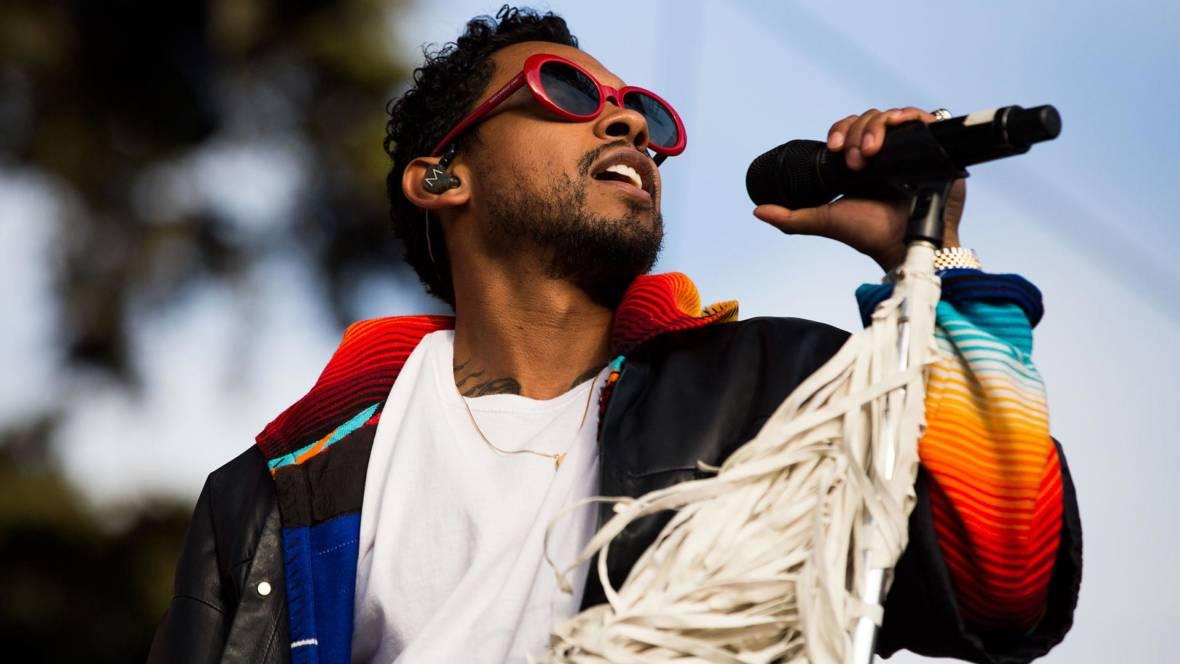 Miguel performs at the 2016 Outside Lands Festival in Golden Gate Park. Estefany Gonzalez