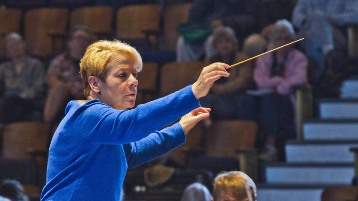 Conductor and music director Marin Alsop says it's incumbent upon women who do get into positions of power in classical music to create opportunities for others to follow behind them.