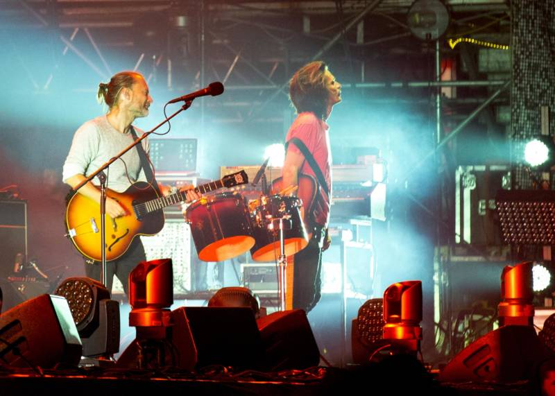 Radiohead at Outside Lands.