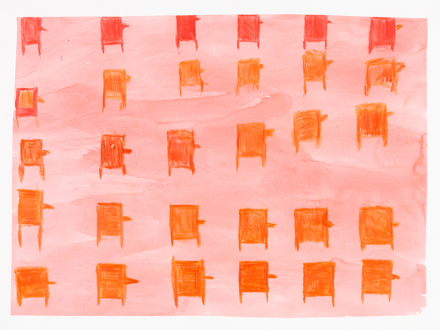 Yolanda Ramirez, 'Piles of Colored Pencils,' 2015.