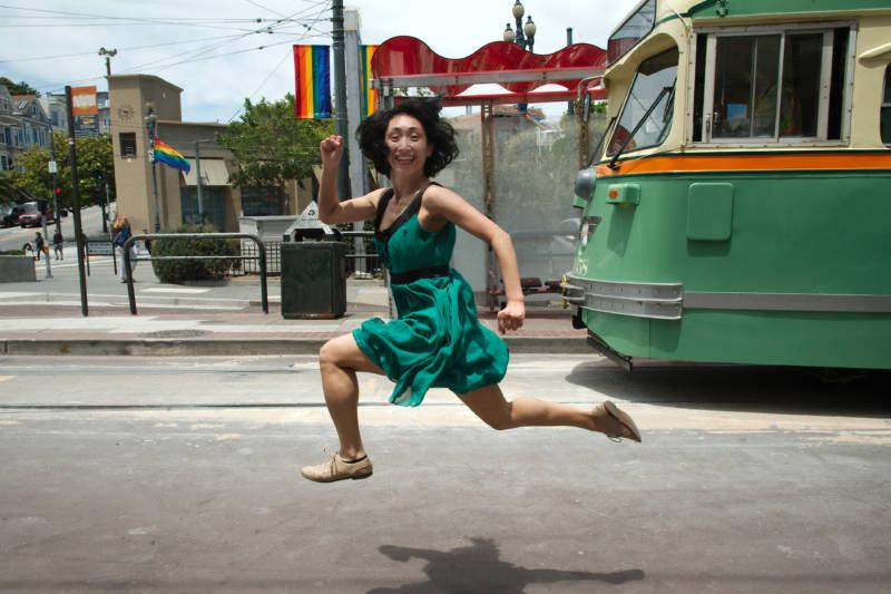 Marina Fukushima for San Francisco Trolley Dances (Photo: Andy Mogg)