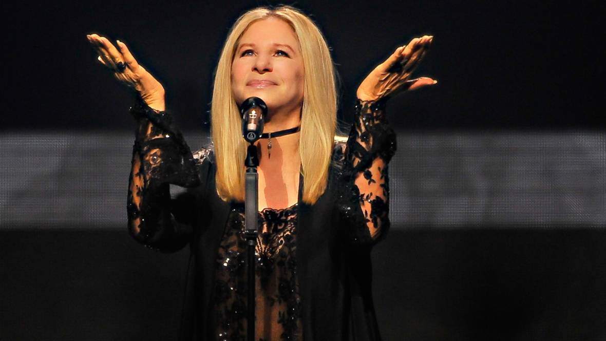 Barbra Streisand performs onstage during the Barbra - The Music... The Mem'ries... The Magic! Tour at SAP Center on August 4, 2016 in San Jose, California.  Steve Jennings/Getty Images