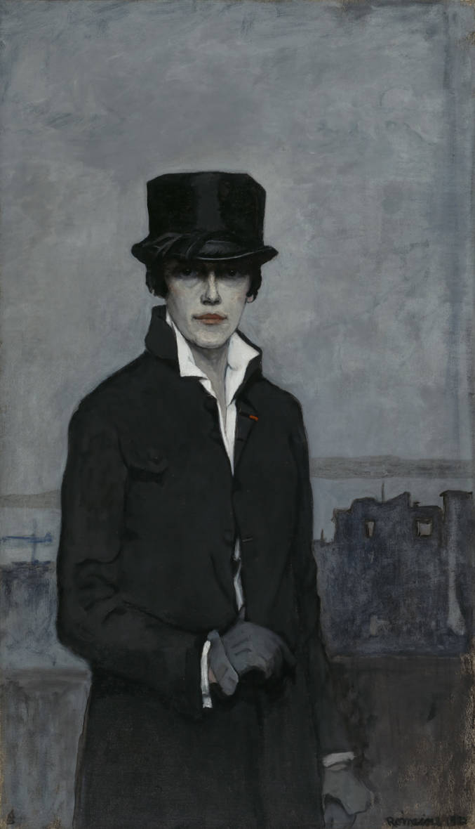 A wealthy American living in Paris, Romaine Brooks had the freedom to paint whatever and however she wanted. Don't let her sober, 1923 'Self-Portrait' fool you — Smithsonian curator Virginia Mecklenburg says in the 1910s and 1920s, Brooks and her circle of friends had plenty of fun in Paris.