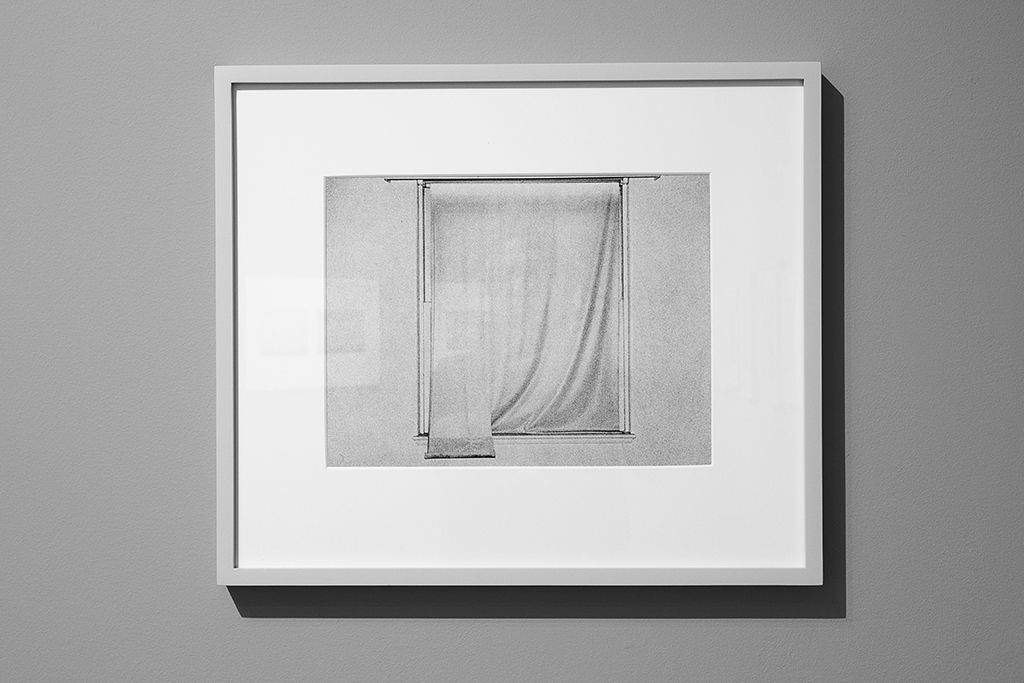 Installation view of Steve Kahn, 'Window #22' from 'The Hollywood Suites,' 1976.