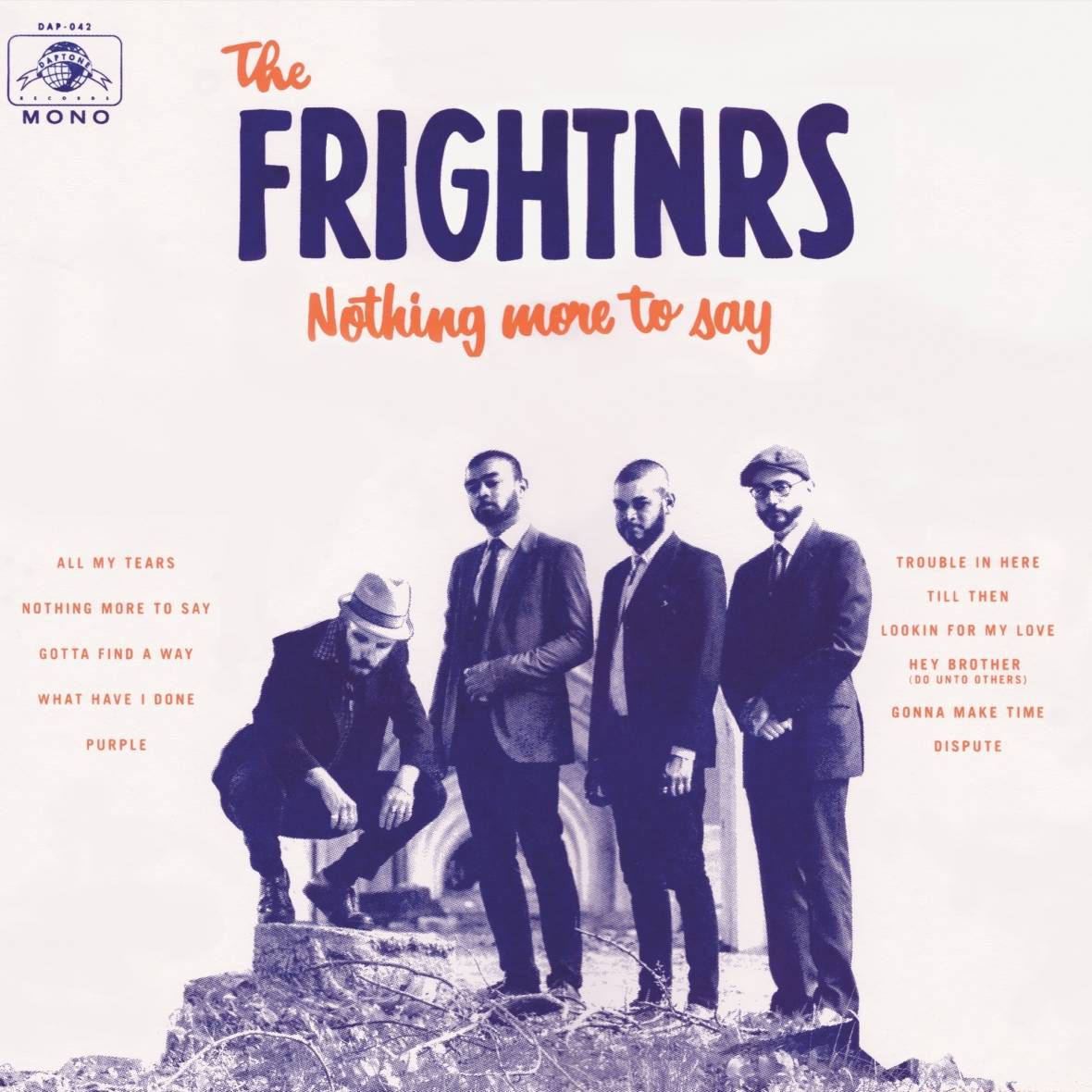 The cover art of 'Nothing More to Say'.