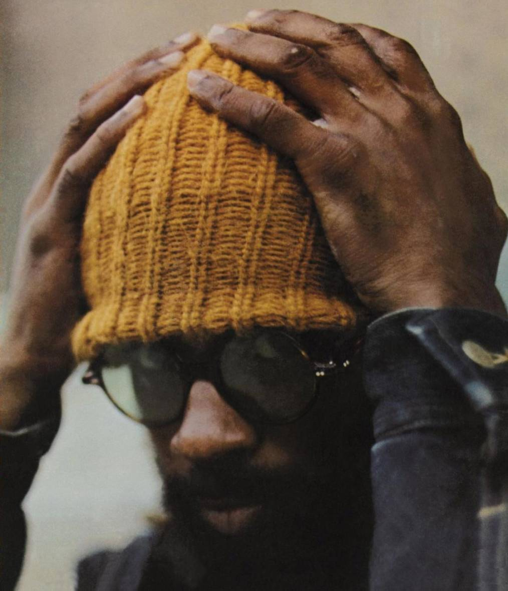 Hutcherson on the cover of the 1971 LP, 'Head On.'