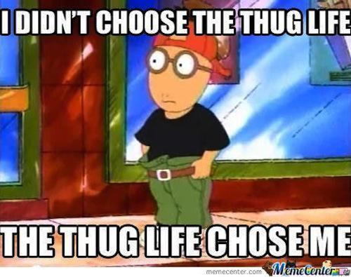An 'Arthur' meme
