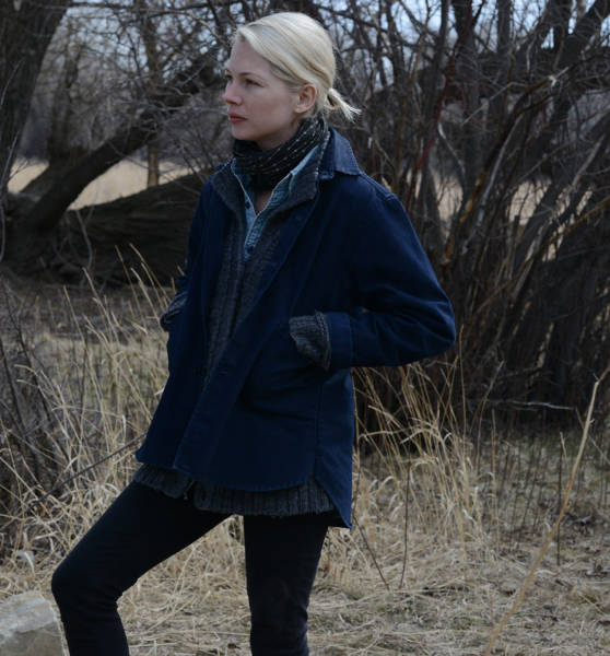 Gina Lewis (Michelle Williams) in Kelly Reichardt's 'Certain Women'