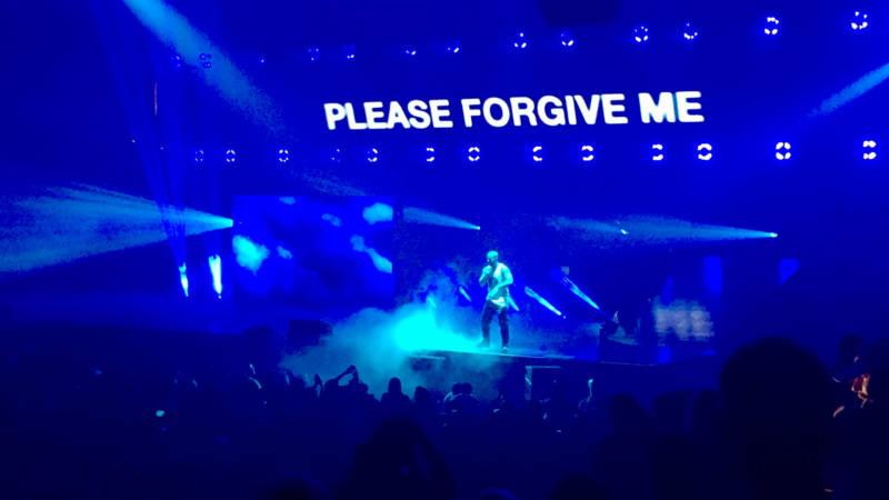 Drake performs at the Oracle Arena in Oakland, Sept. 13, 2016.