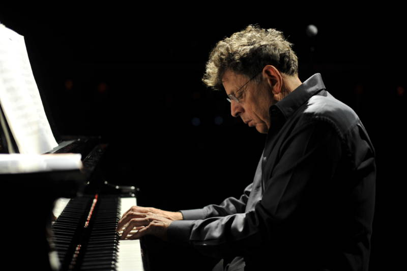 Philip Glass will join four other pianists for a performance of all 20 of his piano etudes as Bing Hall opens its season at Stanford University