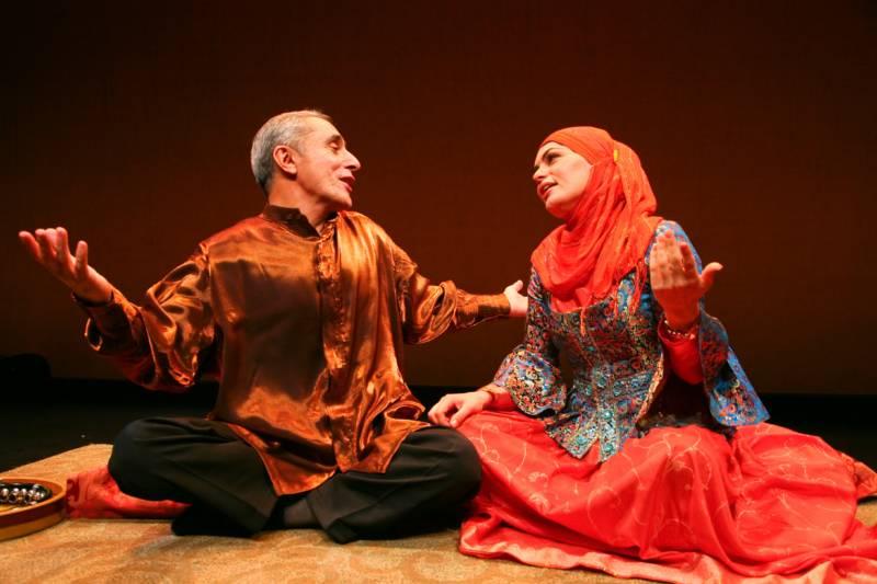 Azerbaijani mugham vocalists Alim Qasimov and Fargana Qasimova join the Silk Road Ensemble and the Mark Morris Dance Group for the world premiere of 'Layla and Majnun' at Cal Performances