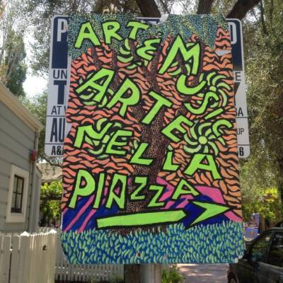 These days, Erica Atreya still drives three hours from Folsom to San Jose every month to participate in Arte nella Piazza, an art bazaar in San Jose's Little Italy.