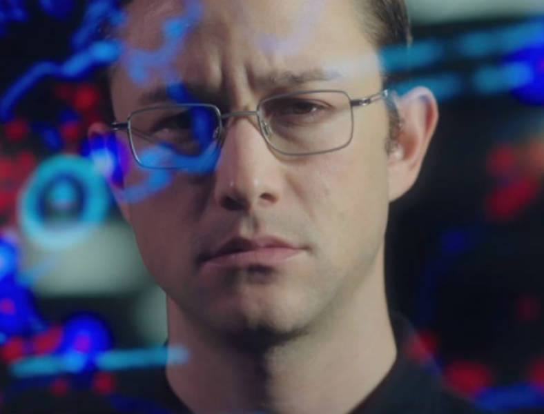 Joseph Gordon-Levitt as Edward Snowden in Oliver Stone's thriller 'Snowden. '