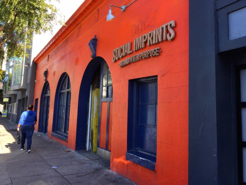 Social Imprints, a small branding and print screening company in San Francisco's South of Market neighborhood