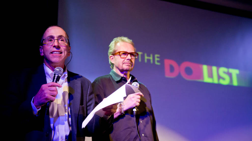 Cy Musiker and David Wiegand, hosts of KQED's The Do List