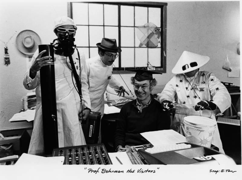 """David Behrman and """"scientists"""""""