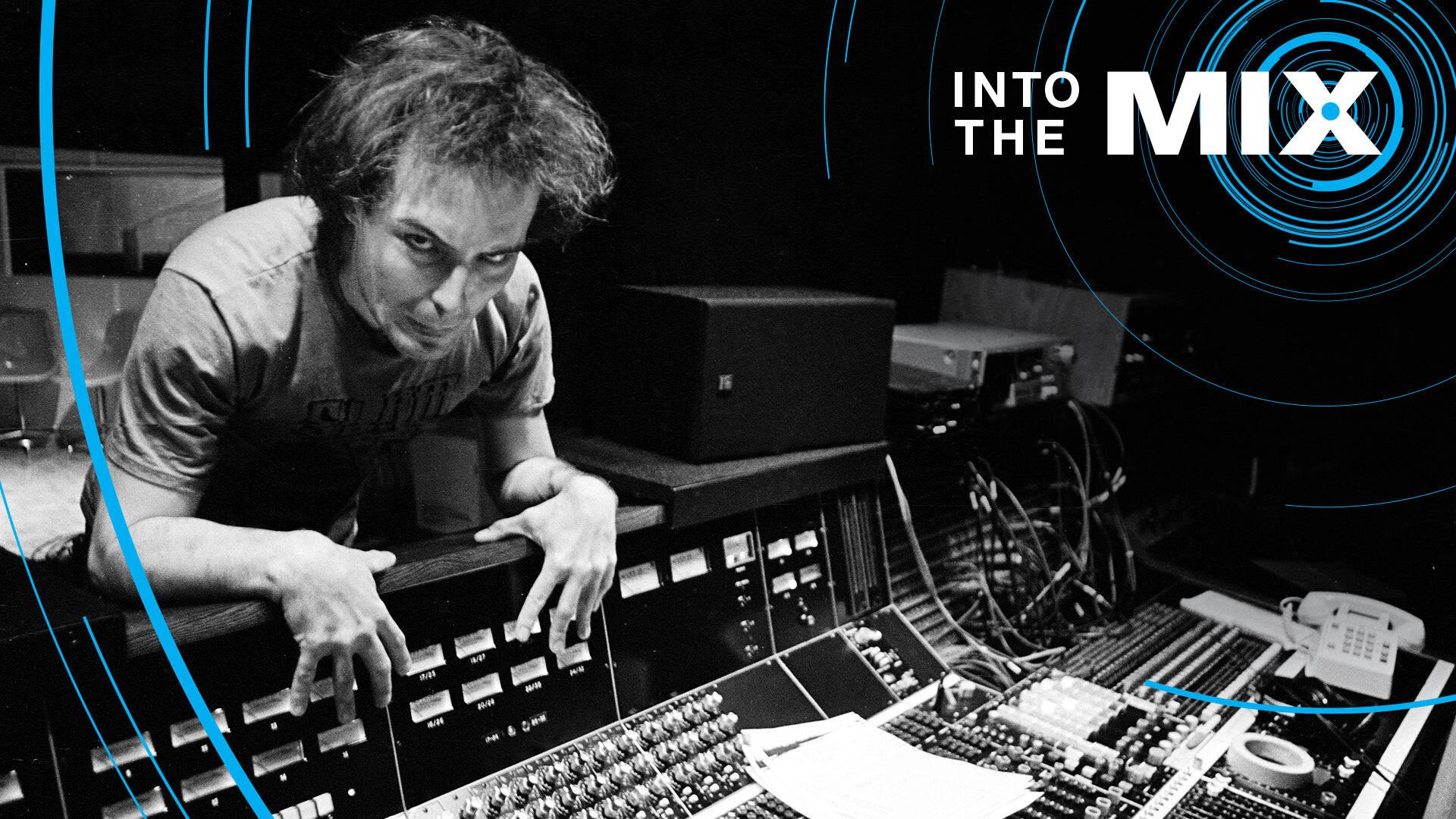 Jello Biafra of the Dead Kennedys in the studio Photo: John Cuniberti