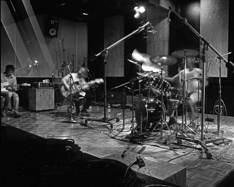 The Dead Kennedys in the studio
