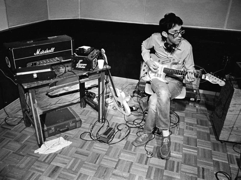East Bay Ray recording with the Dead Kennedys