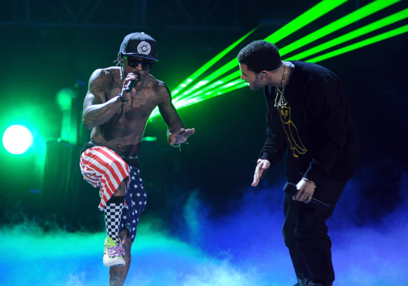 He clearly didn't stay mad for long: Lil Wayne performed with buddy Drake at BET Awards in 201, roughly six months after Wayne got out of Rikers.