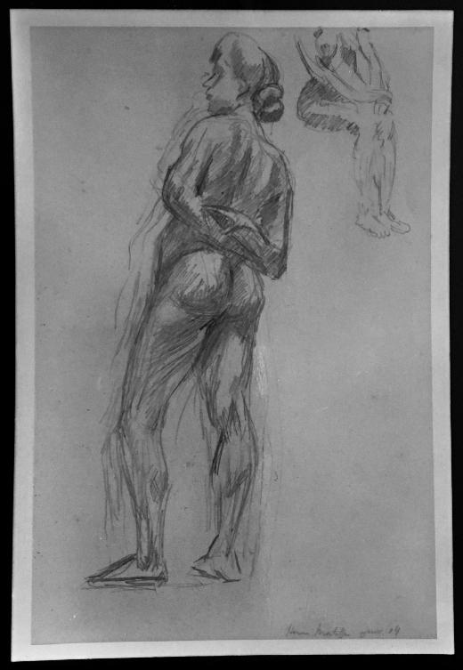 Henri Matisse, 'Nu debout,' 1904.