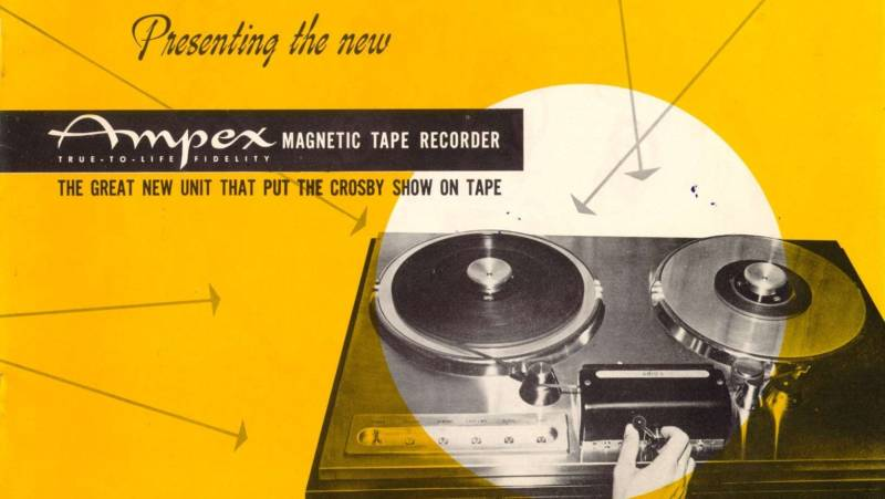 An early advertisement for Ampex.