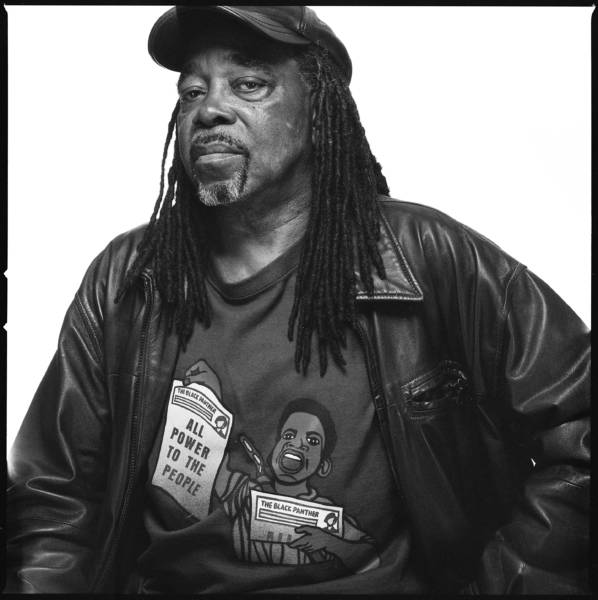 Portrait of ex-Panther Richard Brown from the new book 'The Black Panthers: An Unfinished Revolution' by Bryan Shih and Yohuru Williams.