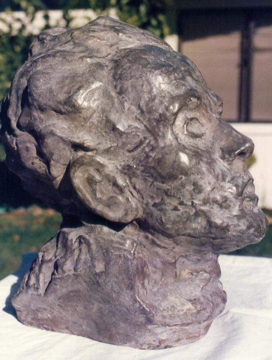 Bust of Egon Schiele