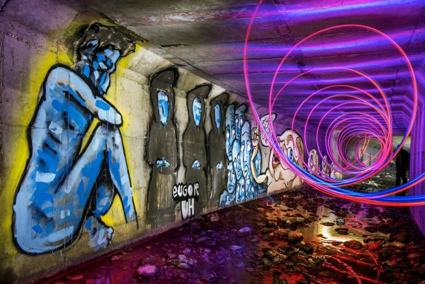 Exploring the Bay Area's Hidden Tunnel Art