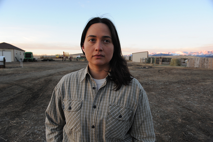 Lily Gladstone as The Rancher in 'Certain Women.'